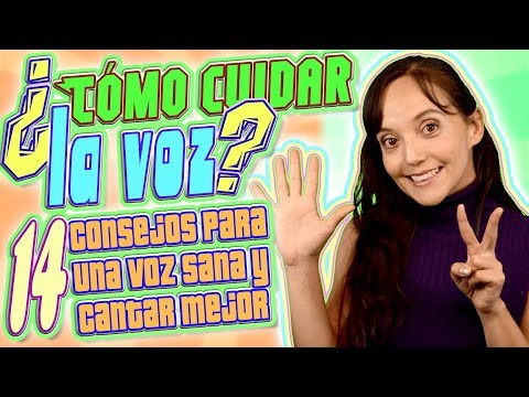 COMO CUIDAR LA VOZ PARA CANTAR 14 Recomendaciones para una voz Sana | CECI SUAREZ Clases de Canto