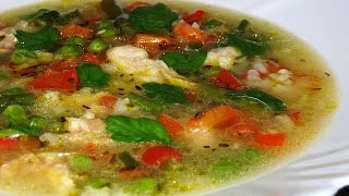 Куриный суп с вермишелью. Суп с курицей, вермишелью и овощами. Готовим вкусный куриный суп.