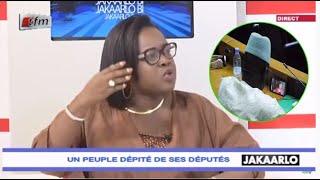 Jakaarlo: Aida Niang (M23) réagit sur le député qui regardait Pod et Marichou en plénière