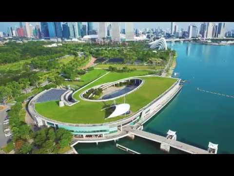 Marina Barrage in Singapore - Project of the Week 7/25/16