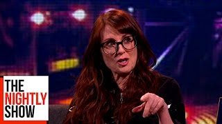 Megan Mullally Had Naughty Suggestions For Prince William | The Nightly Show