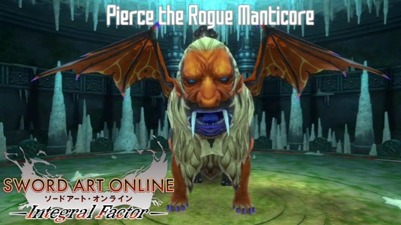 Sword Art Online Integral Factor Last Floor Boss Youtube