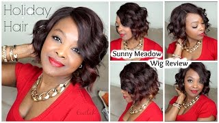 Holiday Hair | Sunny Meadow Wig Review