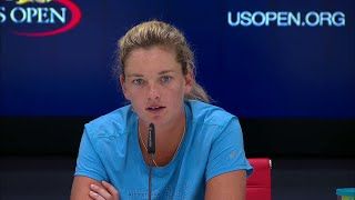 2017 US Open: CoCo Vandeweghe QF Press Conference