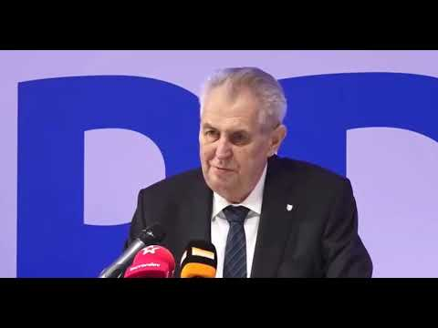 Miloš Zeman na konferenci SPD