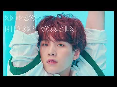BTS (Suga) - Seesaw (CLEAR Adora/Hidden/Background Vocals)
