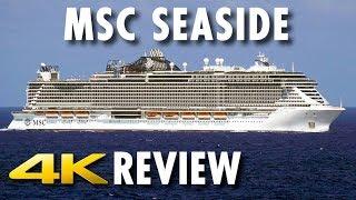 Watch a VIDEO REVIEW of MSC Cruises' MSC Seaside in 4K Ultra HD. Di...