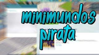 O MINIMUNDOS VAI VOLTAR - MINIMUDOS PIRATA - TOWNCENTER/MINIMUNDOS/SMALLWORLDS
