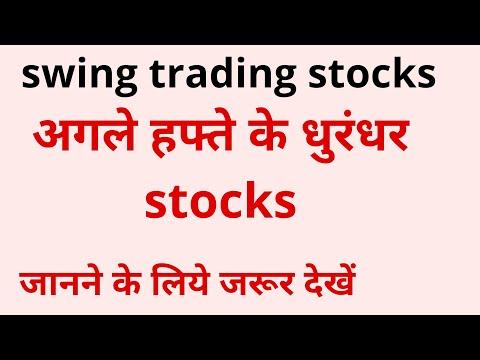 swing trading stocks for next week.