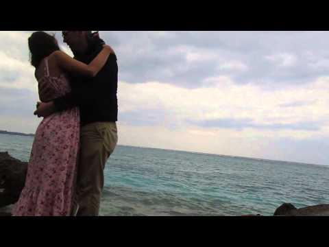 US Marine's proposal to his Filipina girlfriend in Japan