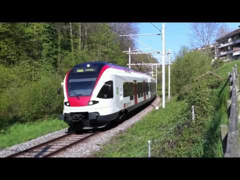 FLIRT RABe 523 024 sur le Train des Vignes