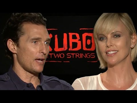 Charlize Theron & Matthew McConaughey Never Have I Ever - Kubo & The Two Strings