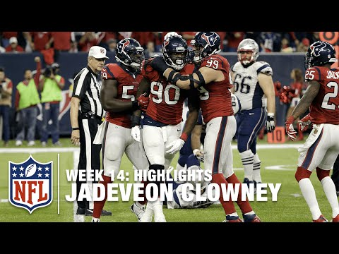Jadeveon Clowney Highlights (Week 14) | Patriots vs. Texans | NFL