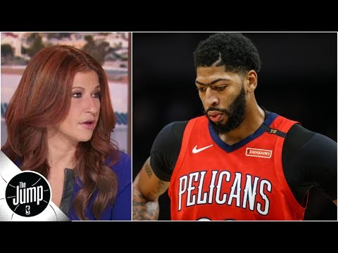Pelicans reportedly pressing NBA to let them sit Anthony Davis | The Jump
