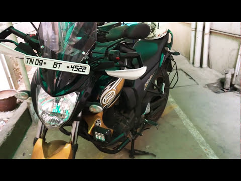 FZ modified for touring#Fz Traveller