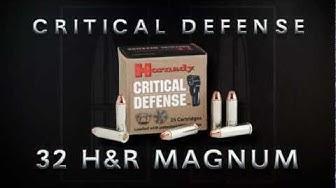 Critical Defense® 32 H&R Magnum from Hornady®