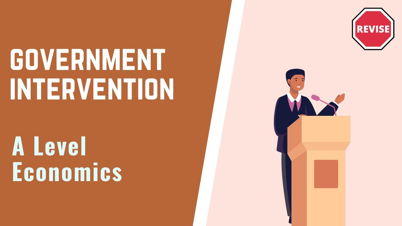 why do governments intervene Explanation of why government intervention to correct market failure may result in government failure unintended consequences poor information, lack of incentives.