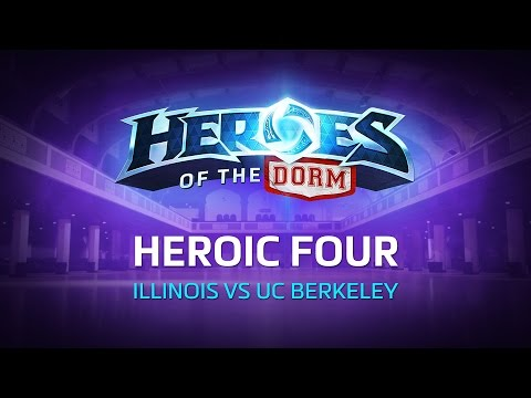 Illinois vs UC Berkeley – Heroes of the Dorm Heroic Four – Game 1