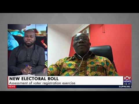 New Electoral Roll - UPfront on Joy News (30-7-20)