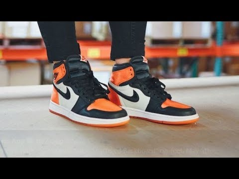 0d23c6102de0e7 AIR JORDAN 1 SATIN SHATTERED BACKBOARD RETRO SNEAKER HONEST REVIEW ...