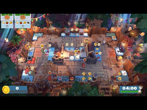Overcooked 2 Campfire cook Off Level 1- 3 |