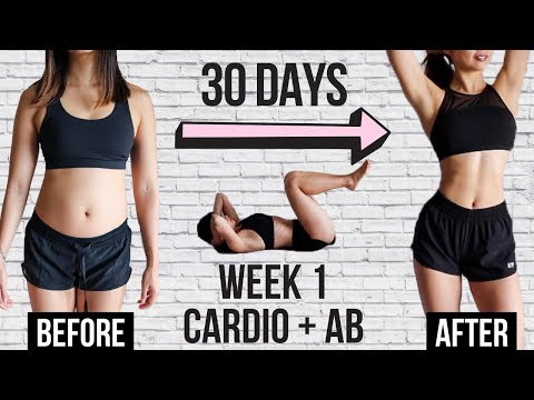 burn-belly-fat-in-30-days!!-10-min-cardio-+-ab-workout-|-week-1~-emi