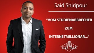 Conversion Hacks vom Conversion King – Said Shiripour der Internet Millionär mit Sergej Heck!