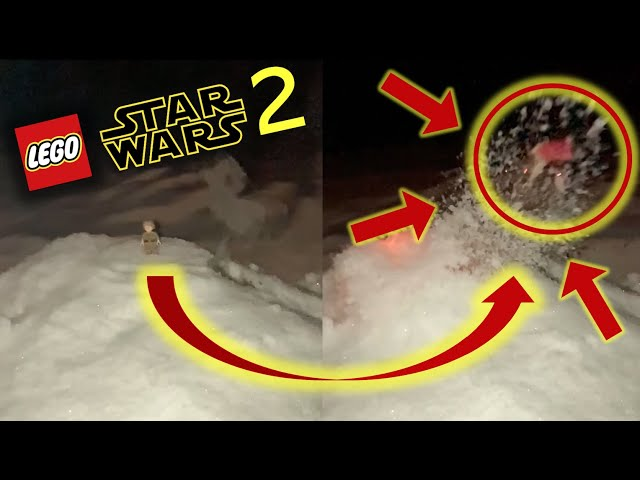 LEGO STAR WARS IN REAL LIFE 2 (HOTH EXPOLSION) EXPERIMENT