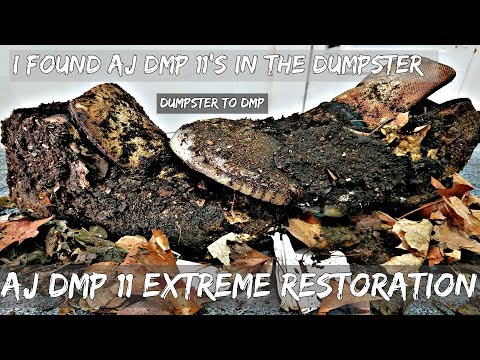 AJ 11 DMP Extreme Restoration | Dumpster 2 DMP