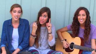 Repeat youtube video Pharrell Williams - Happy (Acoustic Cover) - Gardiner Sisters