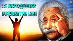19 Wise Quotes for a Better Life - Life Skills