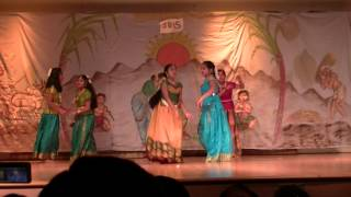 2015 - Pittsburgh Pongal Performance - SV Temple - Kolusu kadai song