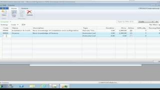 Lab 2 - Create and populate a Table in Microsoft Dynamics NAV 2013