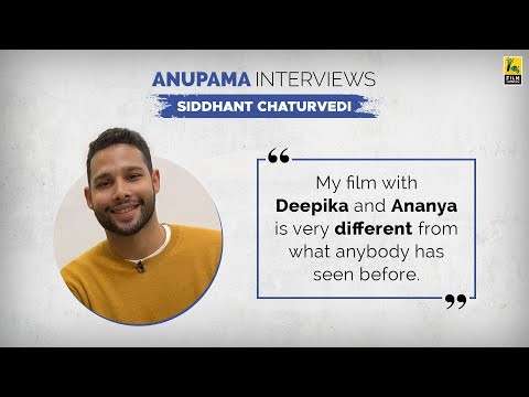 Siddhant Chaturvedi Interview | Anupama Chopra | Gully Boy | Bunty Aur Babli 2 | Film Companion