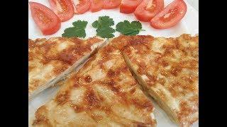 Вкуснятина на ЗАВТРАК за 5 минут – Быстрый и вкусный рецепт из лаваша – Ленивый завтрак. of lavash