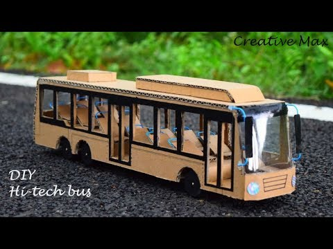 How to make a hi tech bus | Battery powered luxury bus |