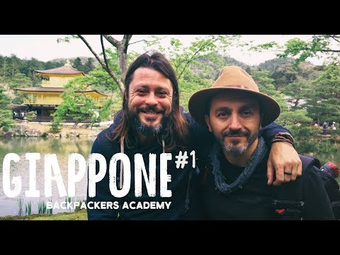 CILIEGI IN FIORE A KYOTO! GIAPPONE BACKPACKERS ACADEMY #1