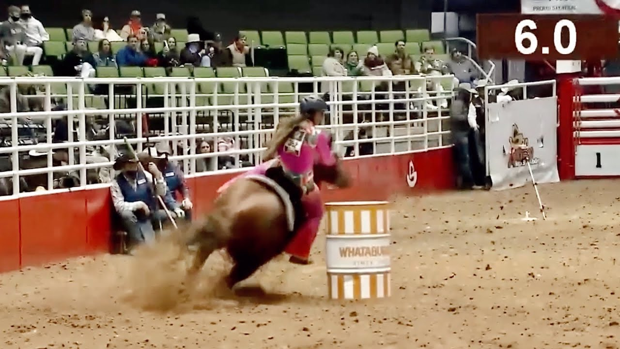 LOLO RUNS AT SAN ANTONIO RODEO 2021!