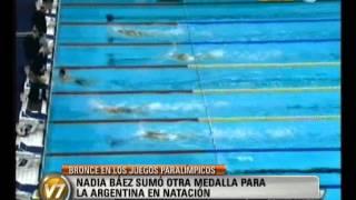 Visión Siete: Bronce En Natación En Los Juegos Paralímpicos Londres 2012
