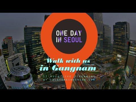 Walk with us in Gangnam! - One Day In Seoul (3 Nov 2012)