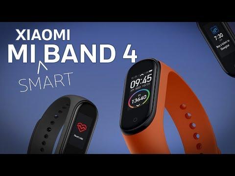 Xiaomi Mi Smart Band 4 - теперь цветной