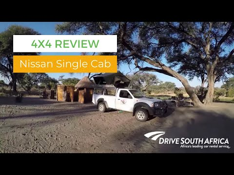 Nissan Single Cab Camping Equipped 4x4 Review - Botswana 4x4 trip