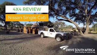 Nissan Single Cab Equipped 4x4 Review - Camping in Botswana