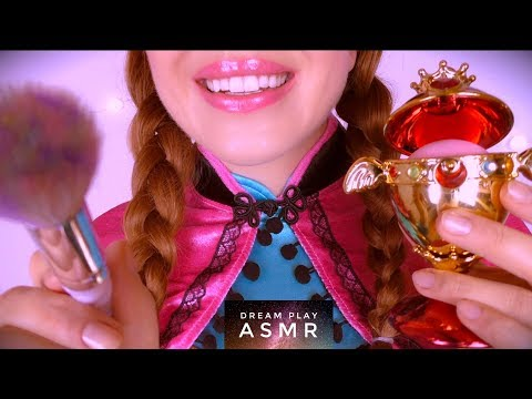 ★ASMR★ Anna from FROZEN does your Party Makeup - You are ELSA | Dream Play ASMR