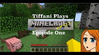 Tiffani Plays Minecraft Episode 1 - Where's the Mall?