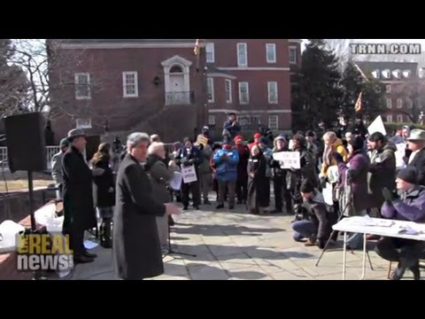 Maryland Protestors Rally To Repeal Citizens United