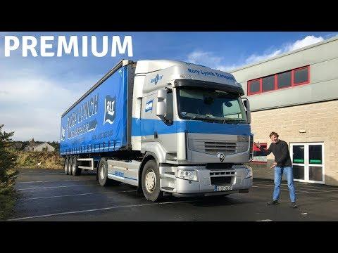 Renault Premium Truck (460hp Volvo Engine) Test Drive - Stavros969