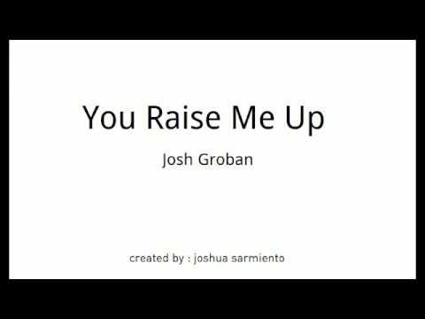 Josh Groban - You Raise Me Up (audio)