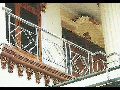 Model Pagar Balkon Stainless Rumah Idaman