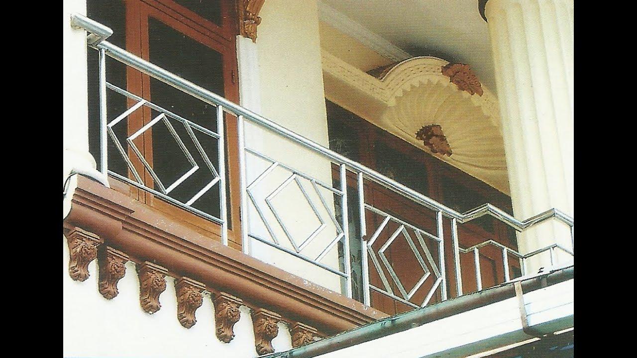 Model Pagar Balkon Stainless Rumah Idaman Youtube